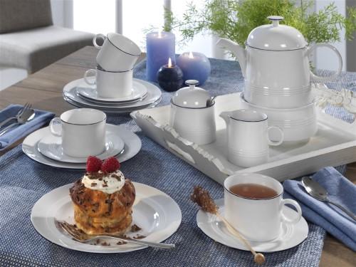 friesland jeverland kleine brise kaffee set 18 tlg kaffeeservice neu. Black Bedroom Furniture Sets. Home Design Ideas