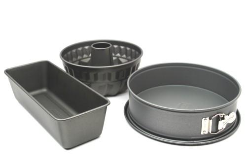kaiser la forme backformen set 3 er springform backform bundform neu ebay. Black Bedroom Furniture Sets. Home Design Ideas