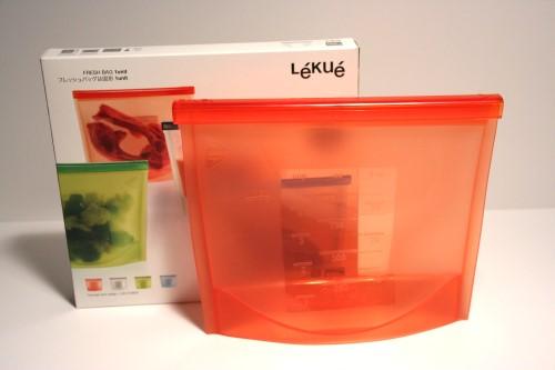 lekue fresh bag gefrierbeutel silikon beutel lachs neu. Black Bedroom Furniture Sets. Home Design Ideas