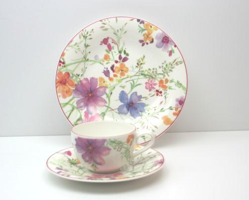 villeroy boch mariefleur basic kaffee set 18 tlg v b ebay. Black Bedroom Furniture Sets. Home Design Ideas