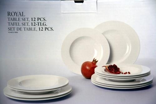 villeroy boch royal tafel set 12 tlg tafelservice 1 w neu ebay. Black Bedroom Furniture Sets. Home Design Ideas